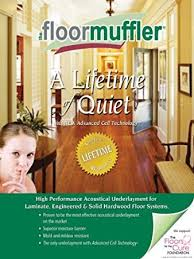 floormuffler flooring underlayment acoustical and moisture barrier