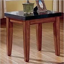 granite top end tables steve silver company montibello granite top end table mg700e