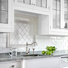 All About Ceramic Subway Tile Subway Backsplash Diamond Pattern - Square tile backsplash