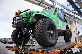 lj jeep truck 2016 sema show rebelle rally jeep lj wrangler