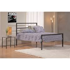 Parsons Nightstand Mainstays Full Parsons Bed Black Walmart Com
