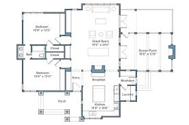 rustic cabin floor plans rustic lake cabin southern living house plans