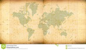 Vintage World Map by Vintage World Map Stock Images Image 8584934
