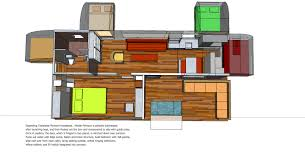 Pontoon Houseboat Floor Plans by Trailerable Unfolding Houseboat Page 5 Boat Design Net