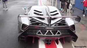 Lamborghini Veneno Max Speed - video 4 5 million lamborghini veneno tamed on wet vallelunga