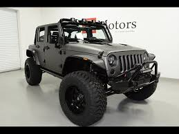 jeep wrangler grey 2014 jeep wrangler unlimited sport supercharged for sale in tempe