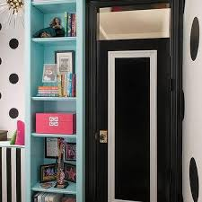 Bookcase With Doors Black Black Bookcase Design Ideas