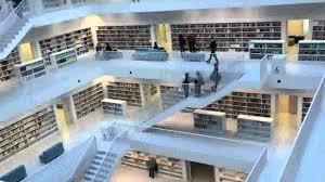 bibliotheken stuttgart kleiner rundblick bzw rundgang durch die neue stadtbibliothek