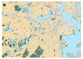 Walking Map Boston by Boston Large City Maps World Map Photos And Images