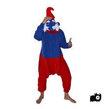 papa smurf onesie blue red afreaka onesie range