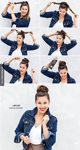 Frisuren Lange Haare Schnell by Die Besten 25 Dutt Frisur Ideen Auf Dutt Zöpfe Und
