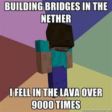 Meme Minecraft - minecraft meme by katiethefurry on deviantart