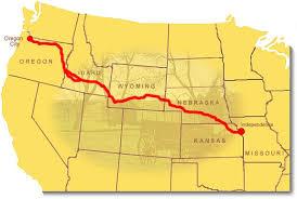 map of oregon mo maps oregon national historic trail u s national park service