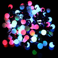 string light 8w 100 led rgb light shaped ac220v 10m au