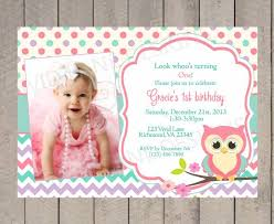 owl first birthday invitations vertabox com