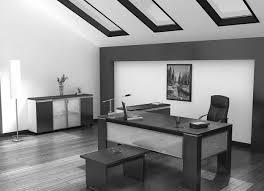 Gray Office Desk Interior Decoration Interior Cool Office Desks Design Ideas