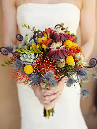 wedding flowers autumn amazing autumn wedding bouquets