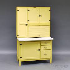 hoosier cabinet for sale near me coppes brothers and zook yellow painted tambour hoosier cabinet