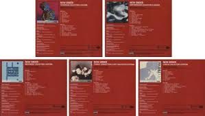 photo album sets new order set of 5 promotional collector s edition 2 cd sets us