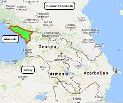 map of abkhazia russia s fm lavrov to open new embassy in s breakaway