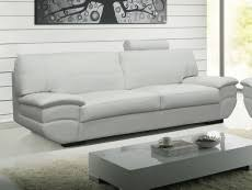 canapé cuir blanc 3 places canape cuir blanc pas cher et canape cuir ivoir pas cher