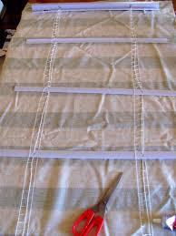 No Sew Roman Shades How To Make - how to no sew roman shades apartment therapy