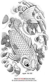 40 koi fish tattoos japanese and chinese designs