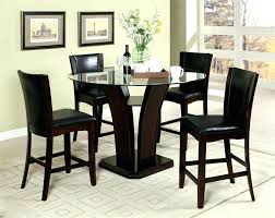 triangle counter height dining table triangle counter height dining table set varsetella site