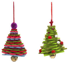 felt christmas tree decorations n1 islington