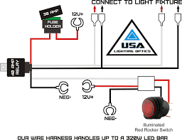 installing led lights on boat utv led light bar wiring harness wiring diagrams