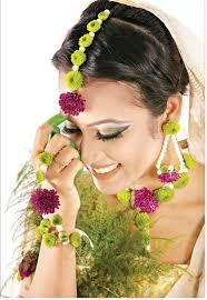 bridal jewellery made of real flowers beautiful flower jewellery