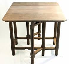 Oak Drop Leaf Table Cotswold School Gordon Tiger Antique Arts And Crafts Oak