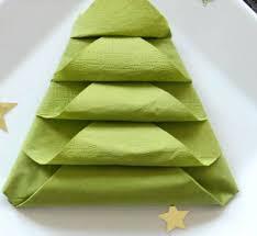 weihnachtsservietten falten weihnachtsservietten basteln möbelideen