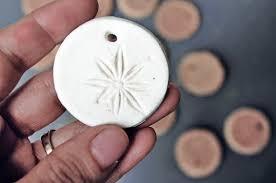 reader s idea scented diy clay ornaments green dot