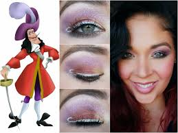 agape love designs disney villain captain hook inspired makeup