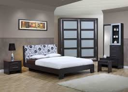 bedroom king size grey modern stained solid wood captain u0027s bed