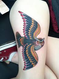owl tattoo minneapolis tattoo shop in mn