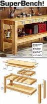 Plans For A Wooden Bench With Storage by Best 25 Workbench Ideas Ideas On Pinterest Workshop