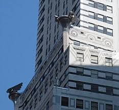 the chrysler building exterior ornaments vistadome views
