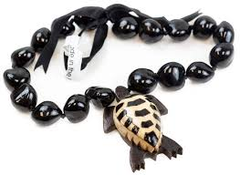 kukui nut 403a barbra collection hawaiian style black kukui nut with wood