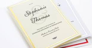 make wedding programs wedding ceremony programs stationery to design print make your own