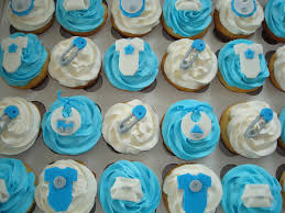 blue u0026 grey baby shower cupcakes blue u0026 grey baby shower