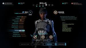 no class understanding combat profiles in mass effect andromeda