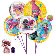 balloon bouquet trolls ultimate balloon bouquet kit by costume
