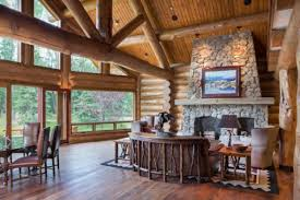 beautiful log home interiors pictures of interiors of log homes home pictures