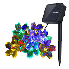 Tork 806b Outdoor Christmas Light by Christmas Christmas Innoo Tech Solar Stringhts Outdoor Flower