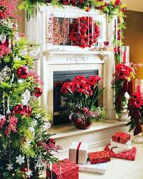 Christmas Decoration For Fireplace Mantel by Chic Design Fireplace Christmas Decorations Impressive 27