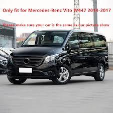 Minivan Interior Accessories Left Hand Drive Car For Mercedes Benz Vito W447 2014 2017 Abs