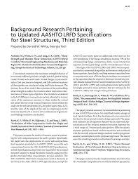 appendix a literature search development of lrfd