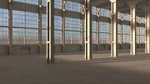 factory warehouse 3d model cgtrader